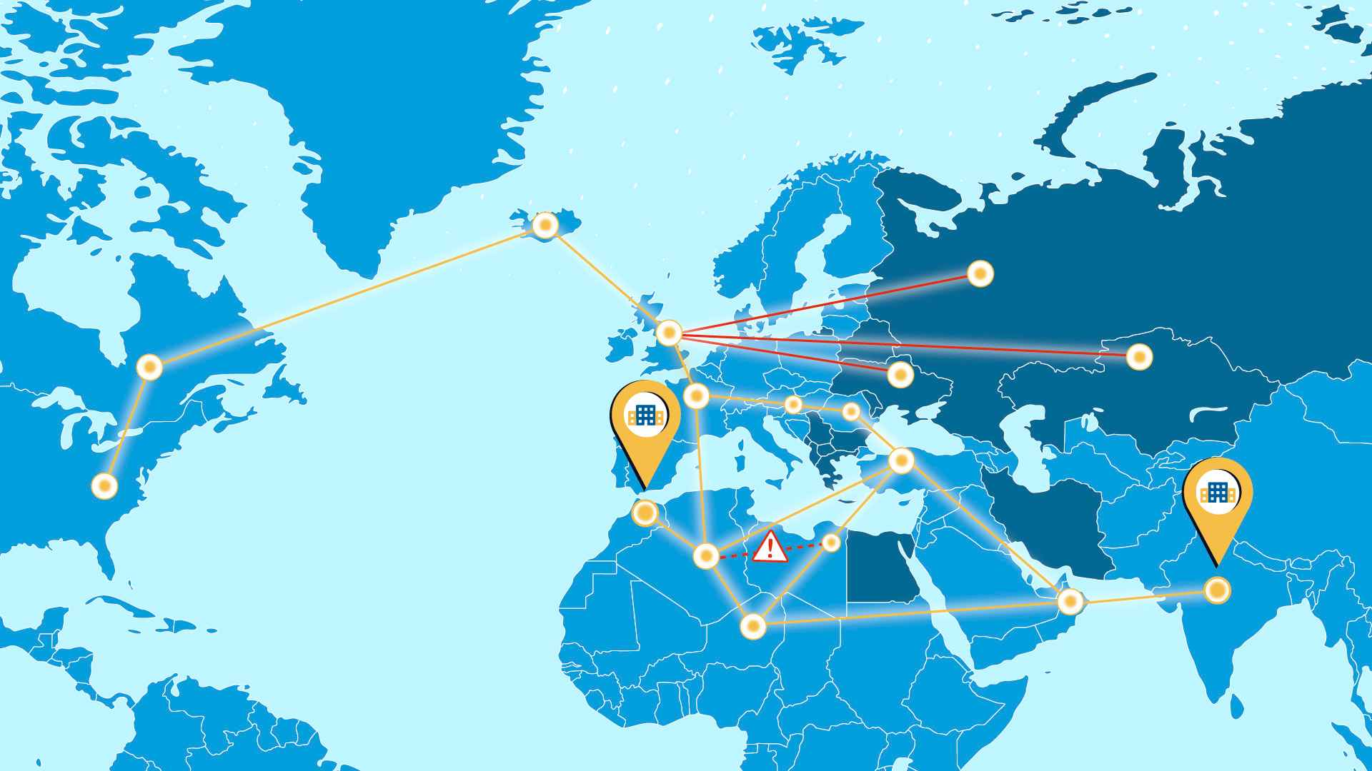 Map image in Animated Explainer Video
