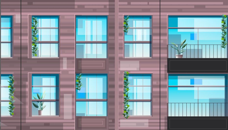 Building facade in Animated Explainer Video