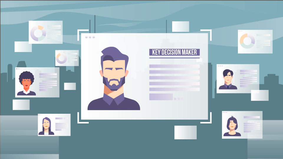 Customer Page in Marketing Animation Video
