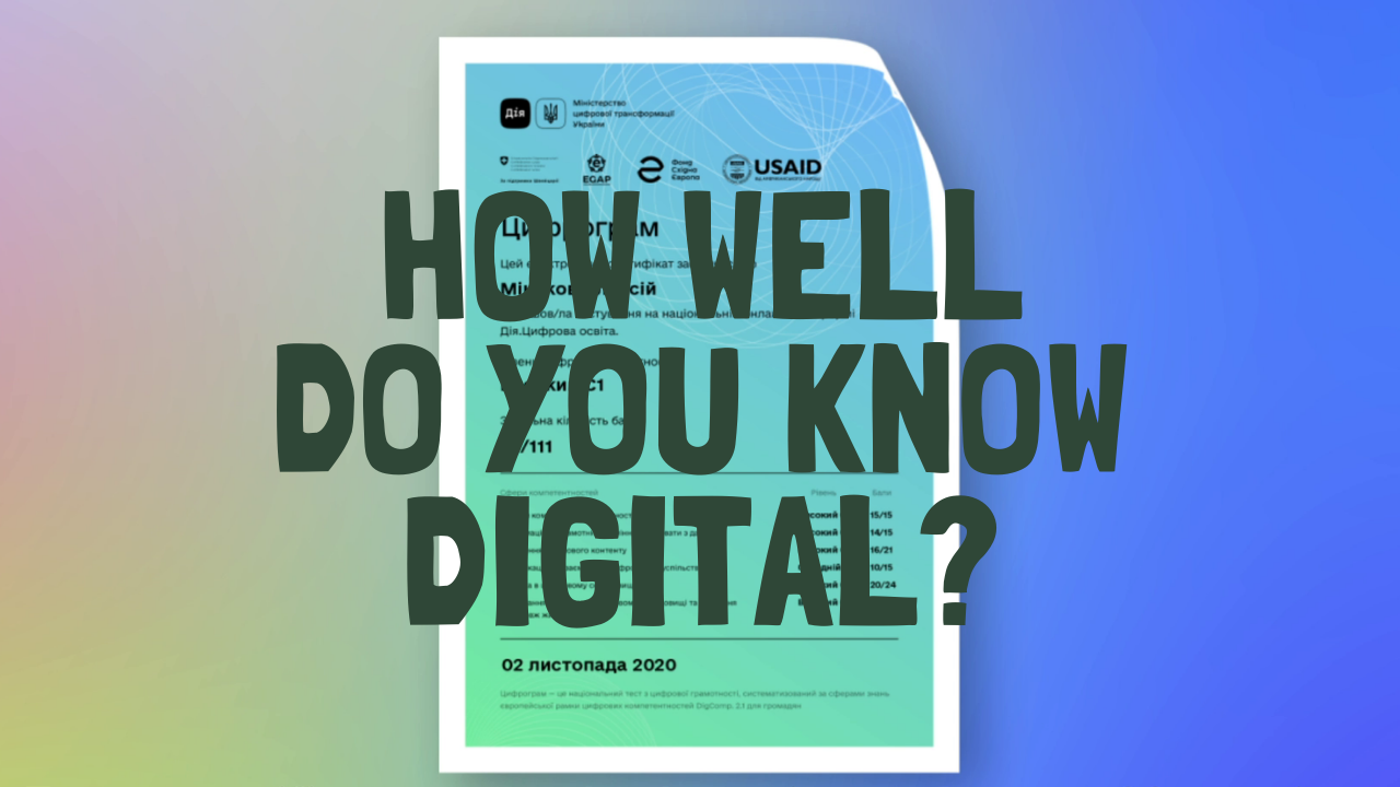 """Social Ad Animated Video """"How well do you know digital?"""""""