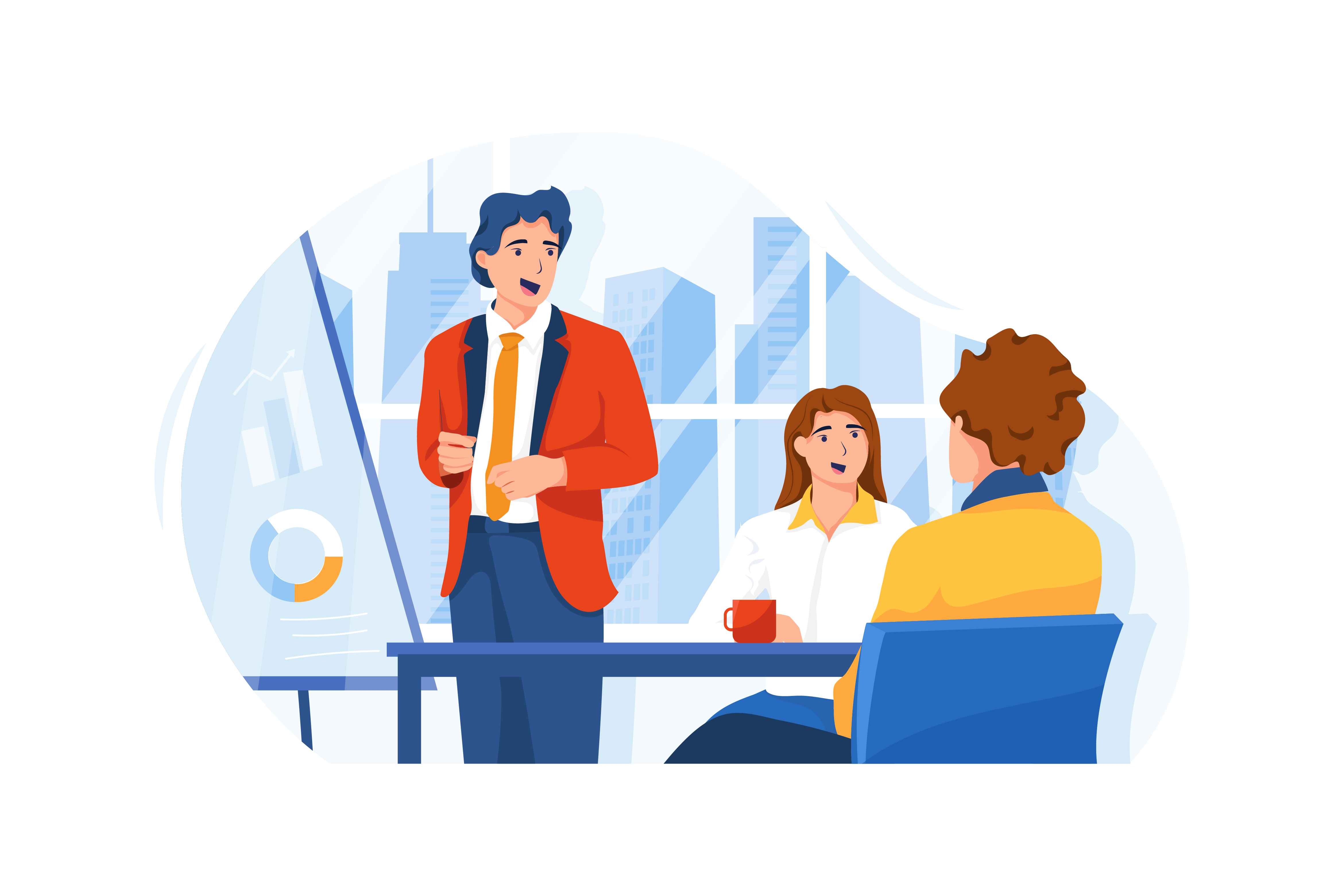 Business Meeting - article Videos for Investors Pitching