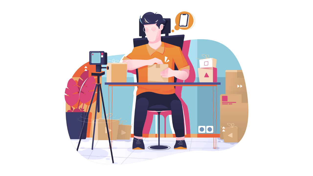 Shoot unboxing in the article Which video is right for your business?