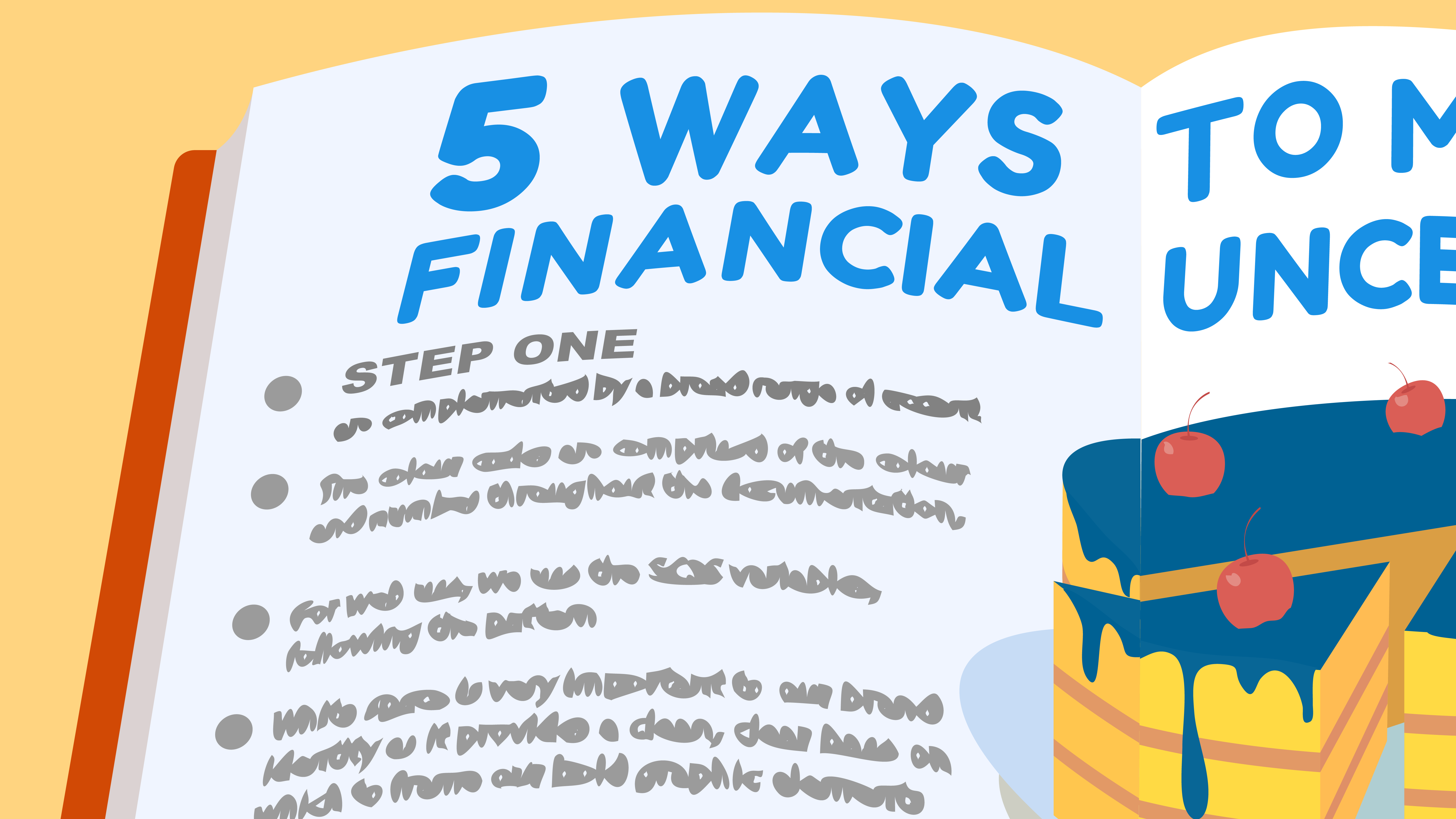 How to deal with financial uncertainty? - Animated video