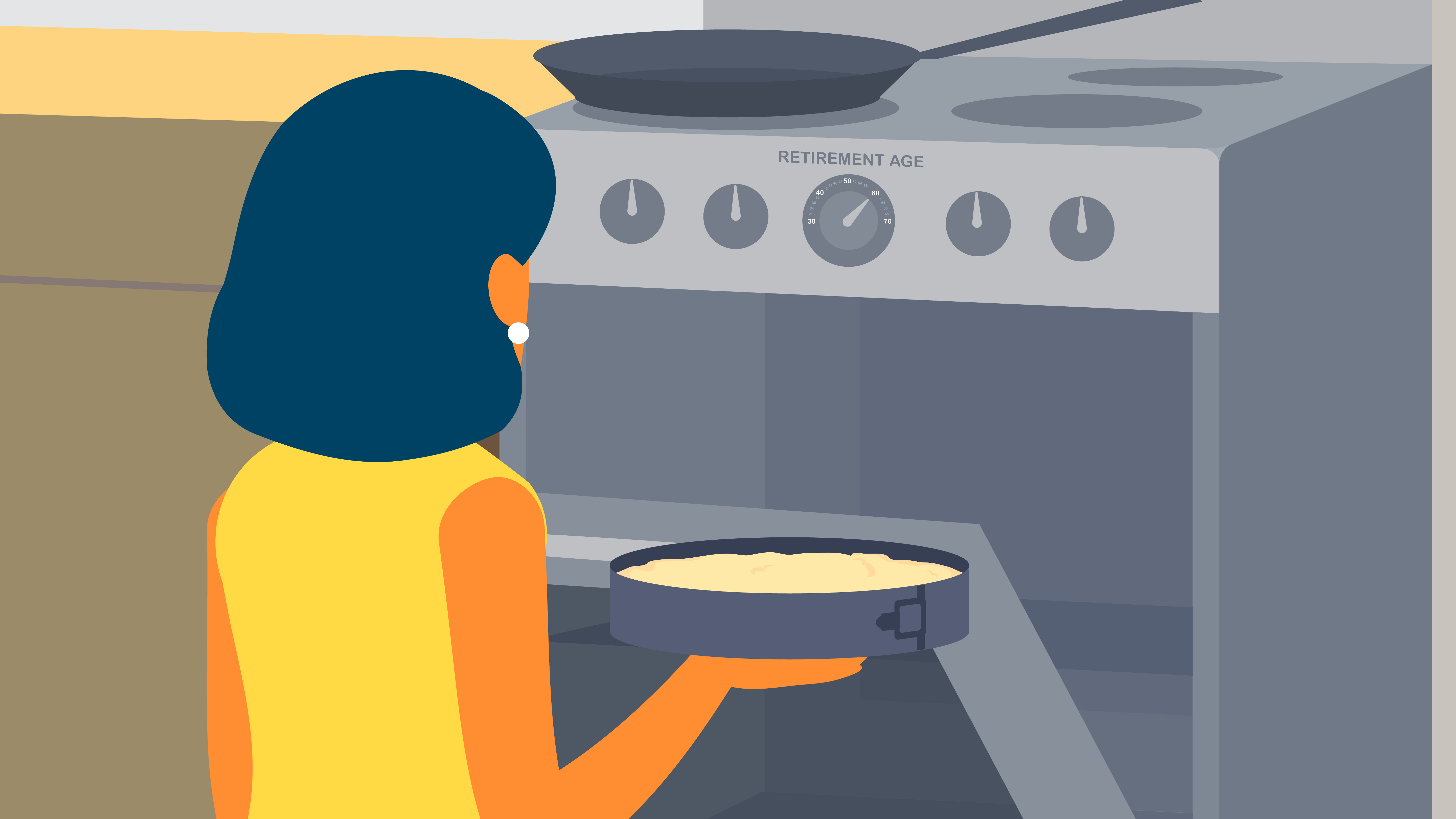 Baking in the oven - Character Animation