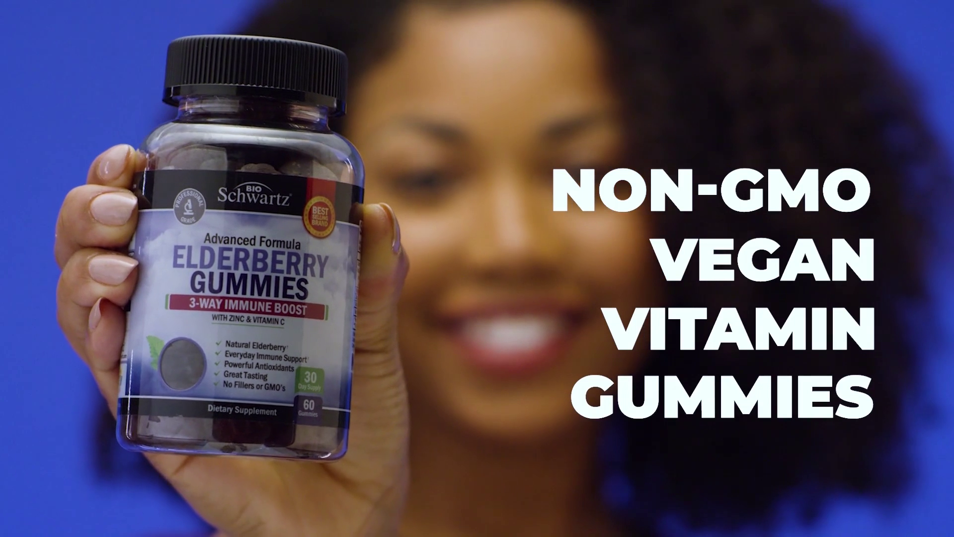 """Video with Animation """"Enjoy vitamins for your health"""""""