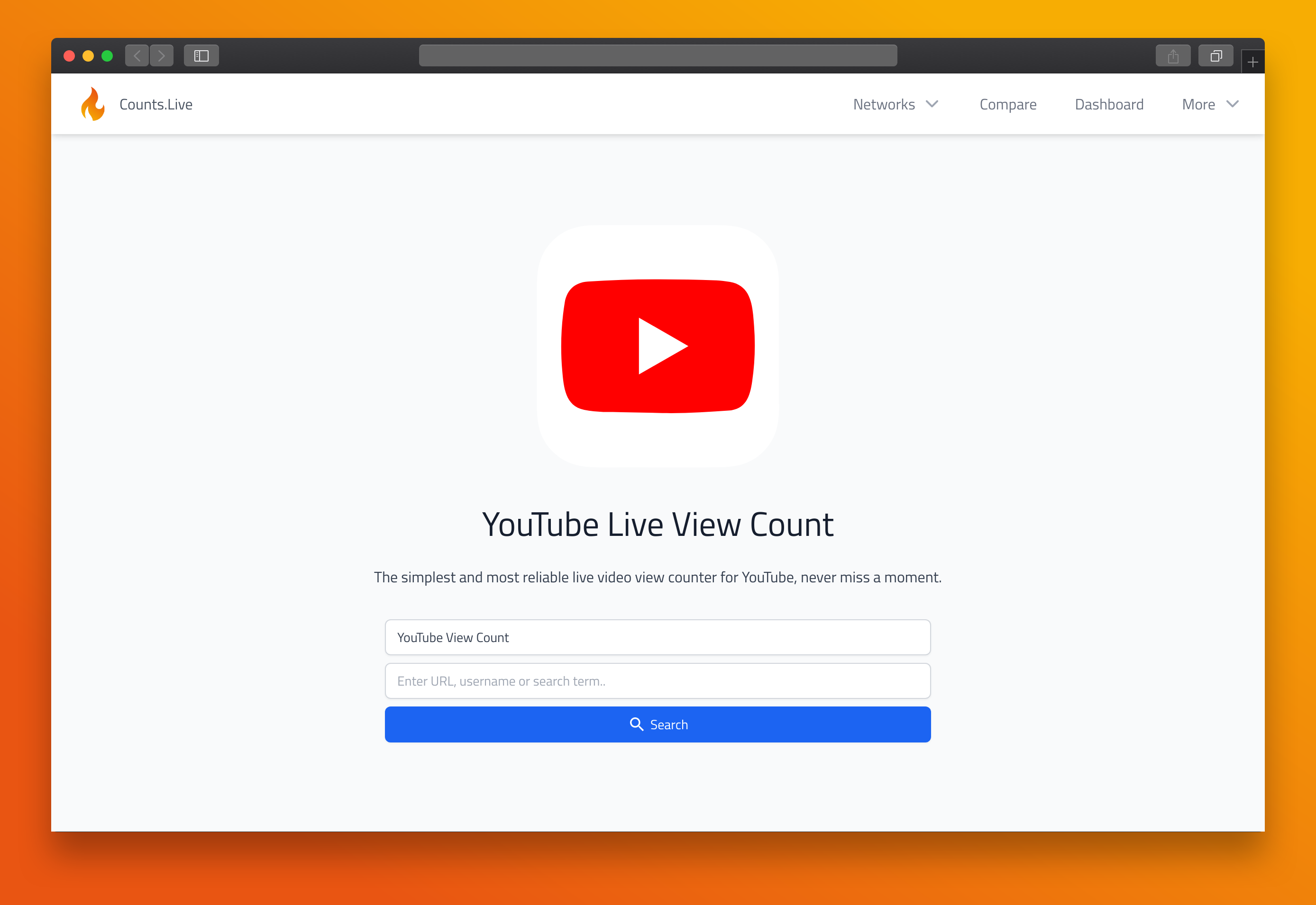 YouTube Live View Count in article about video effectiveness