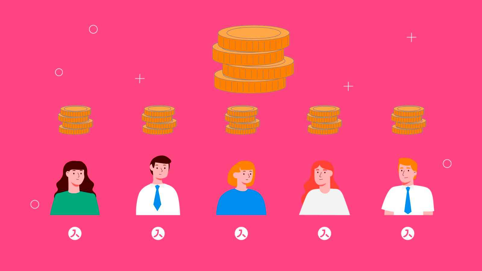 Money in Animated Video