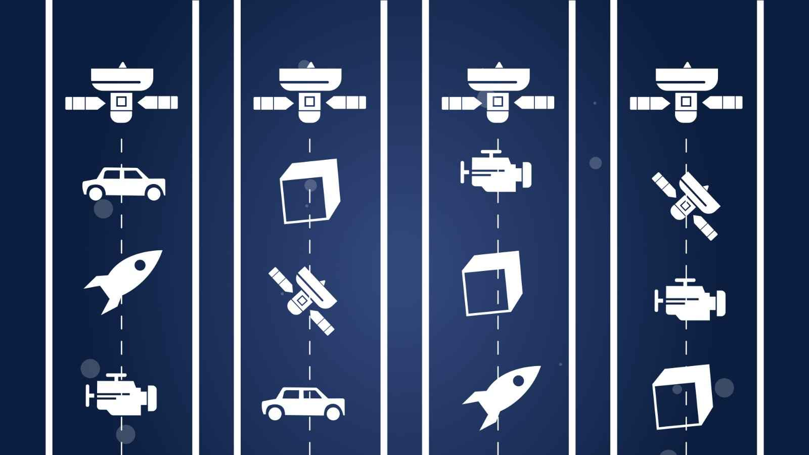 Devices whose operation depends on satellites