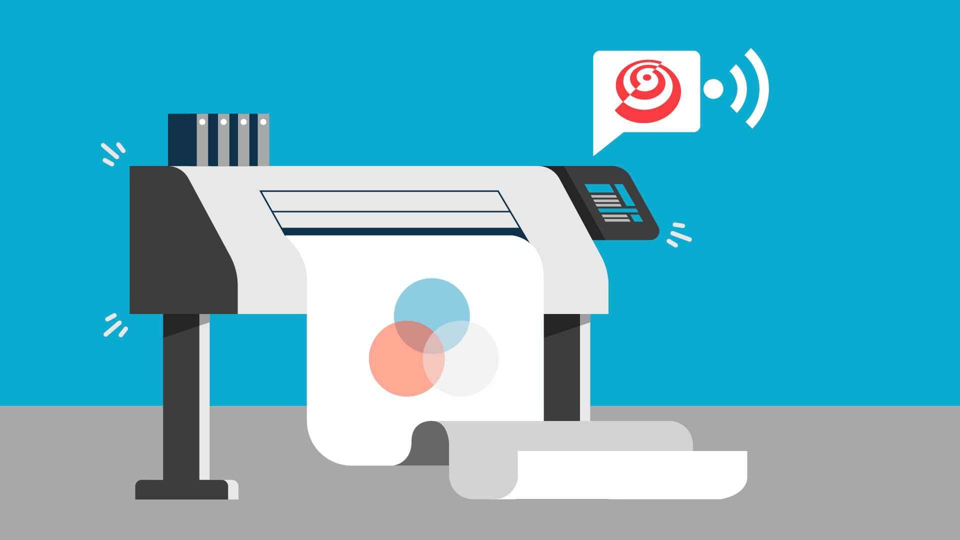 Printing equipment in Presentation Video