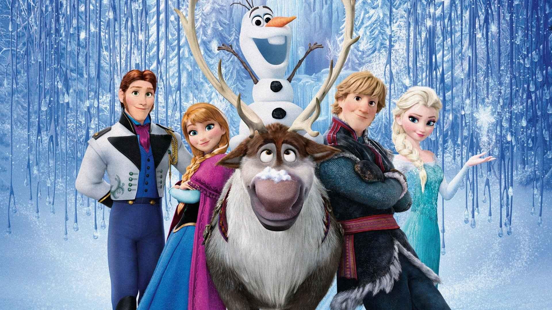 "Frame from ""Frozen"""