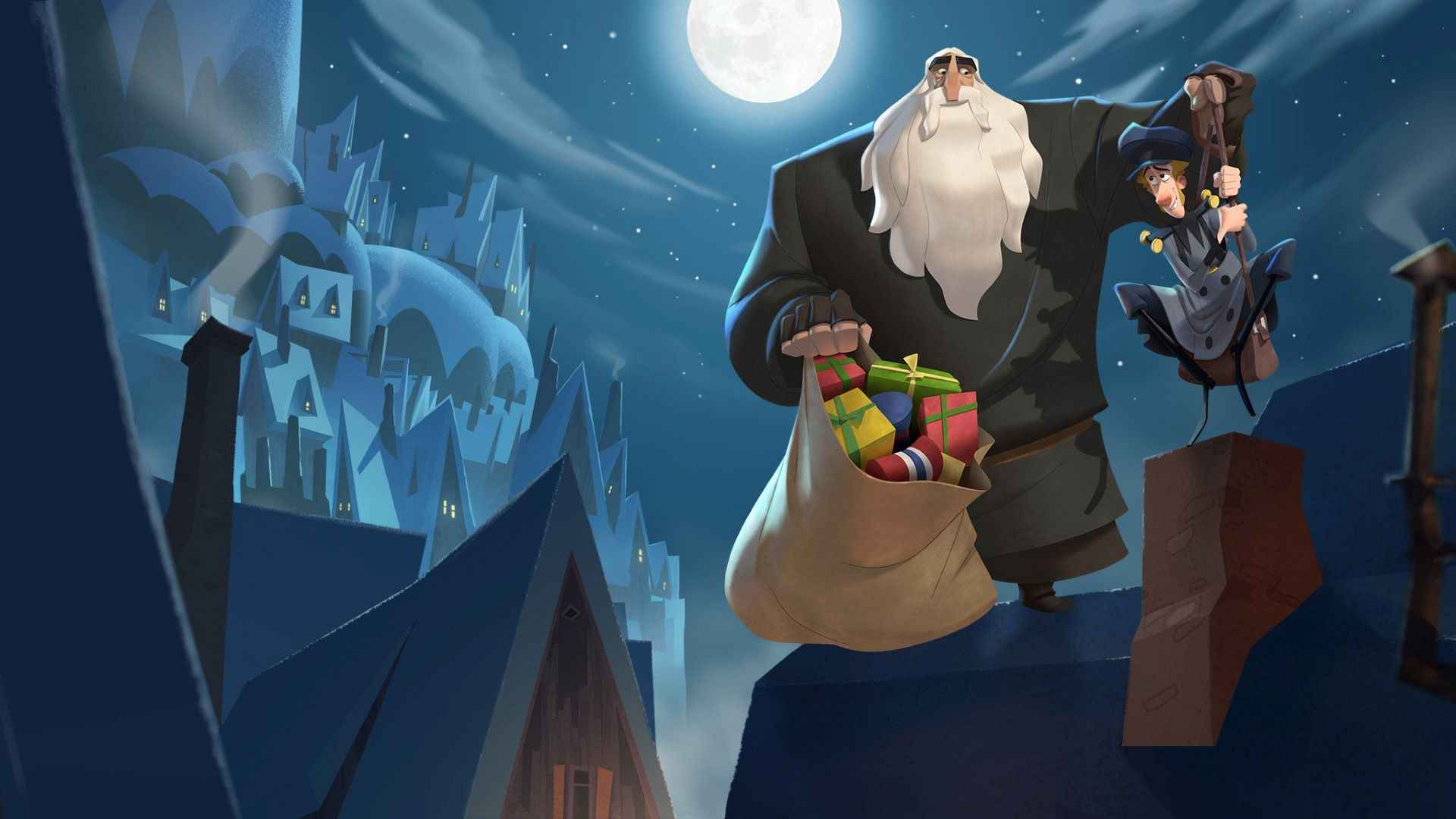 "Cartoon ""Klaus"" created by SPA Studios"