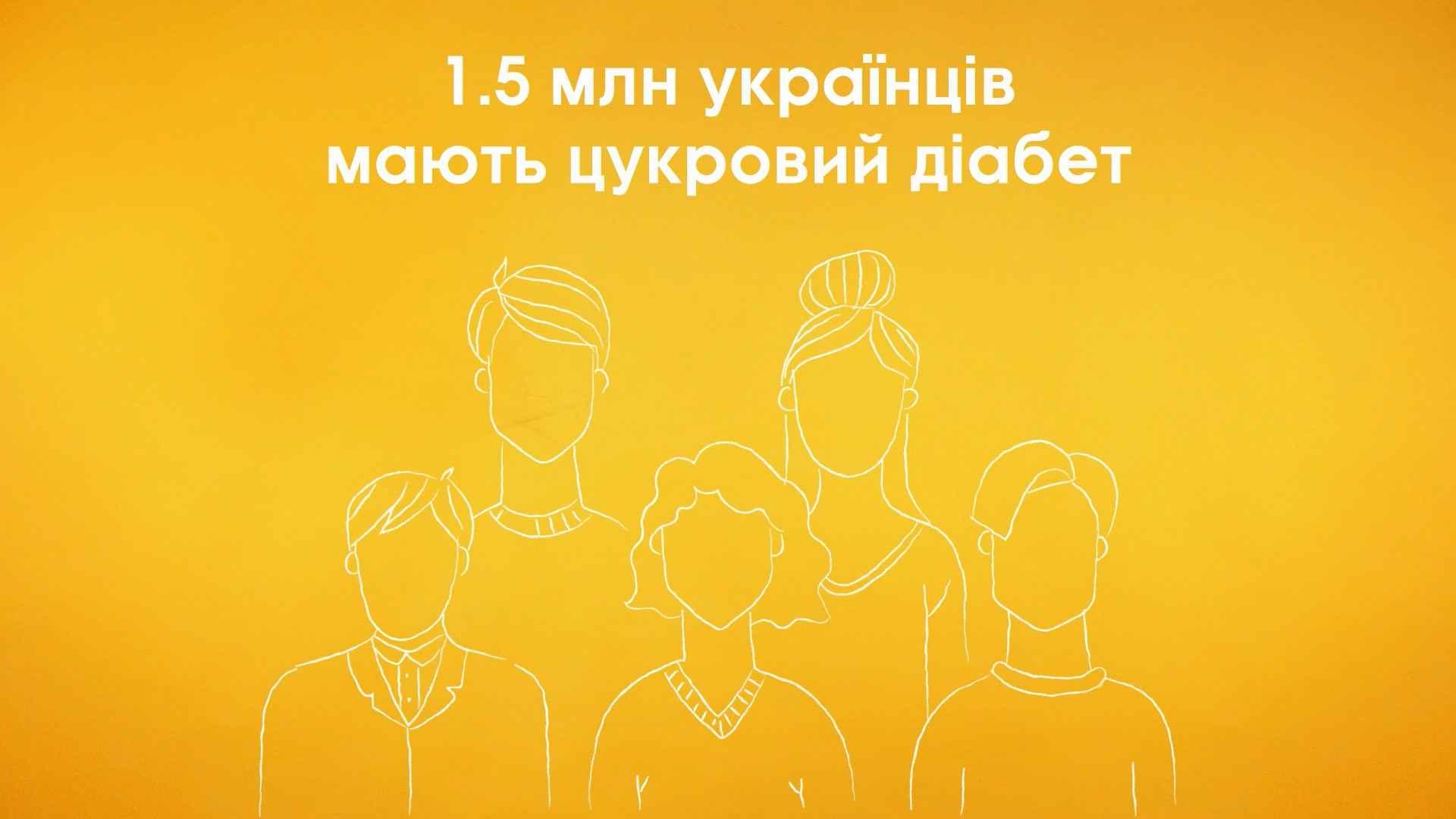 1.5 million Ukrainians have diabetes - Animated Video