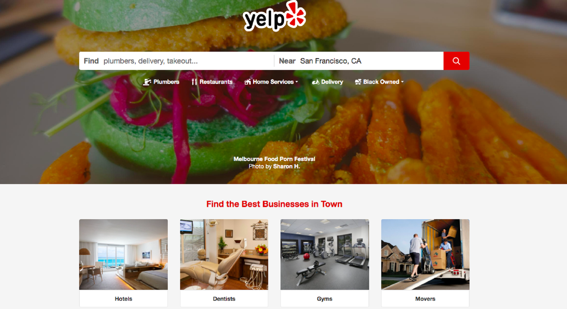 Yelp platform in the article about the best online platforms