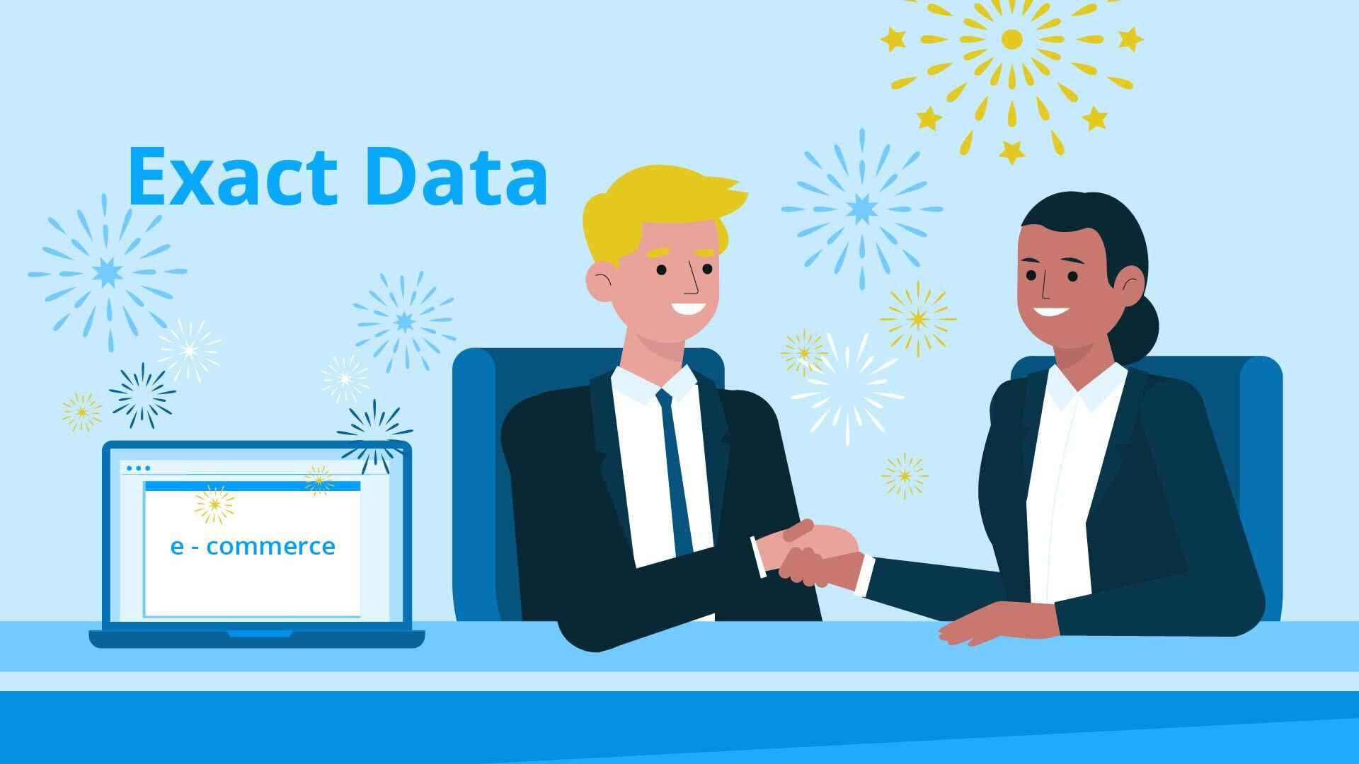 """Exact Data service in the video """"New clients easily and quickly"""""""