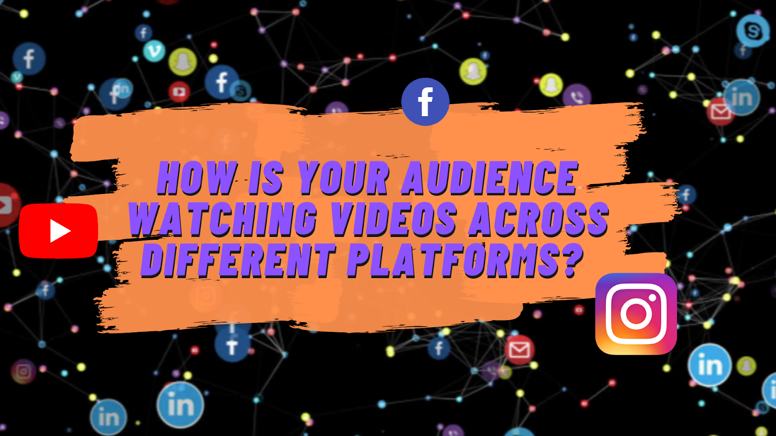 How is your audience watching videos across different platforms?
