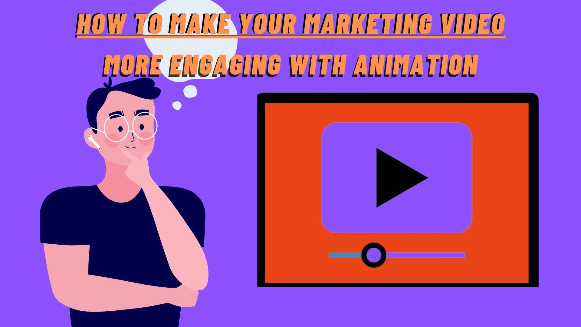 Cool marketing animated video