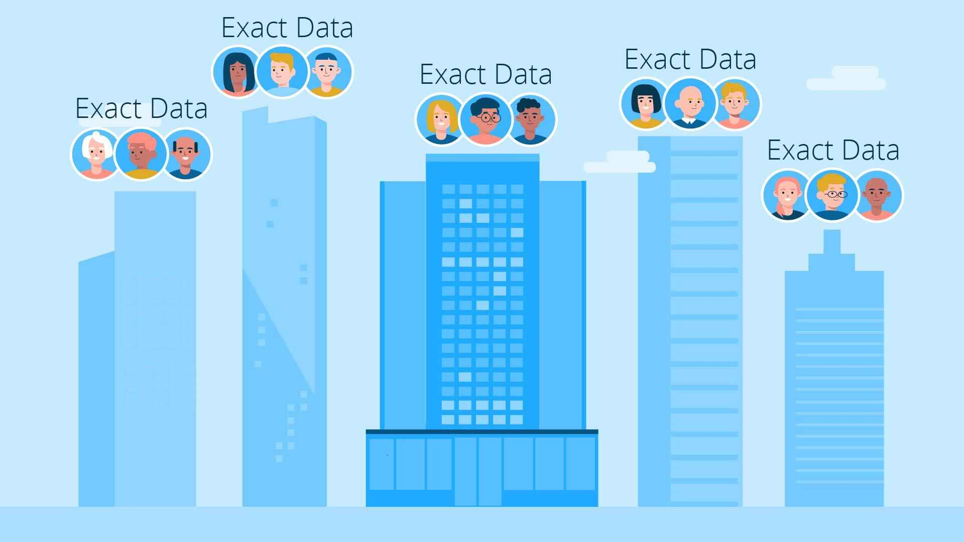 Exact Data service in Animation Video