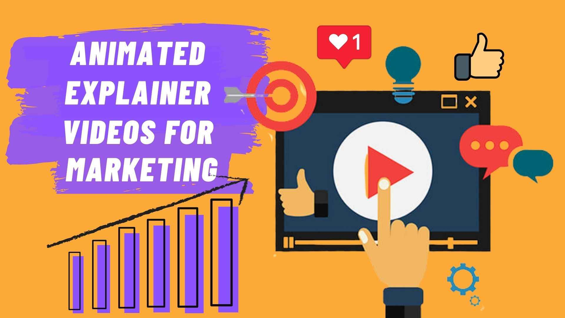 Animated explainer videos for Marketing