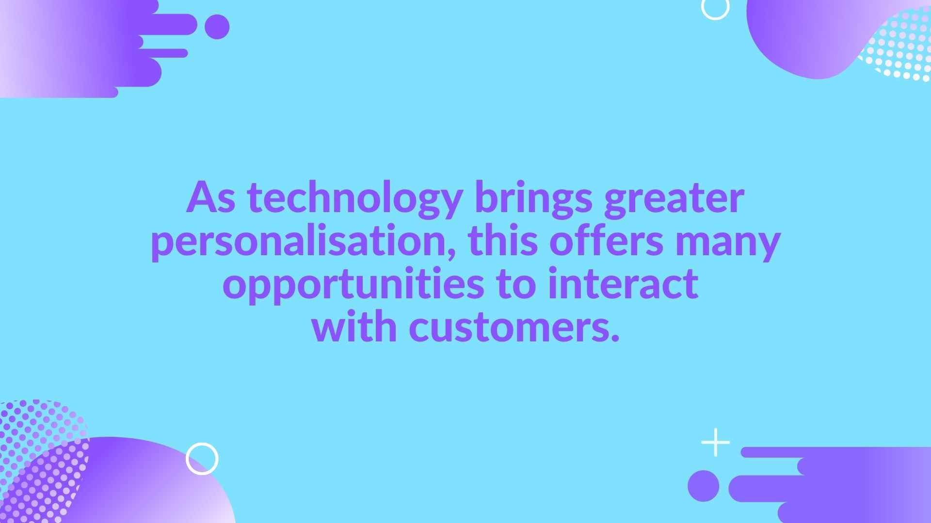 What is customer personalization