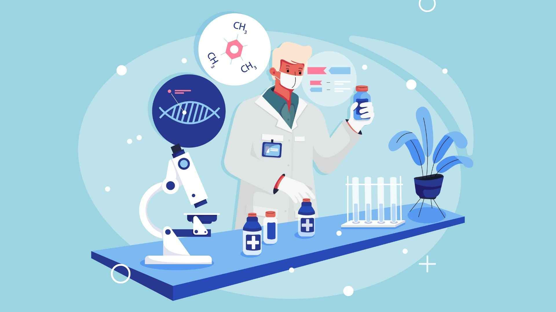 Pharmacological research in the article animated videos for pharmaceutical companies
