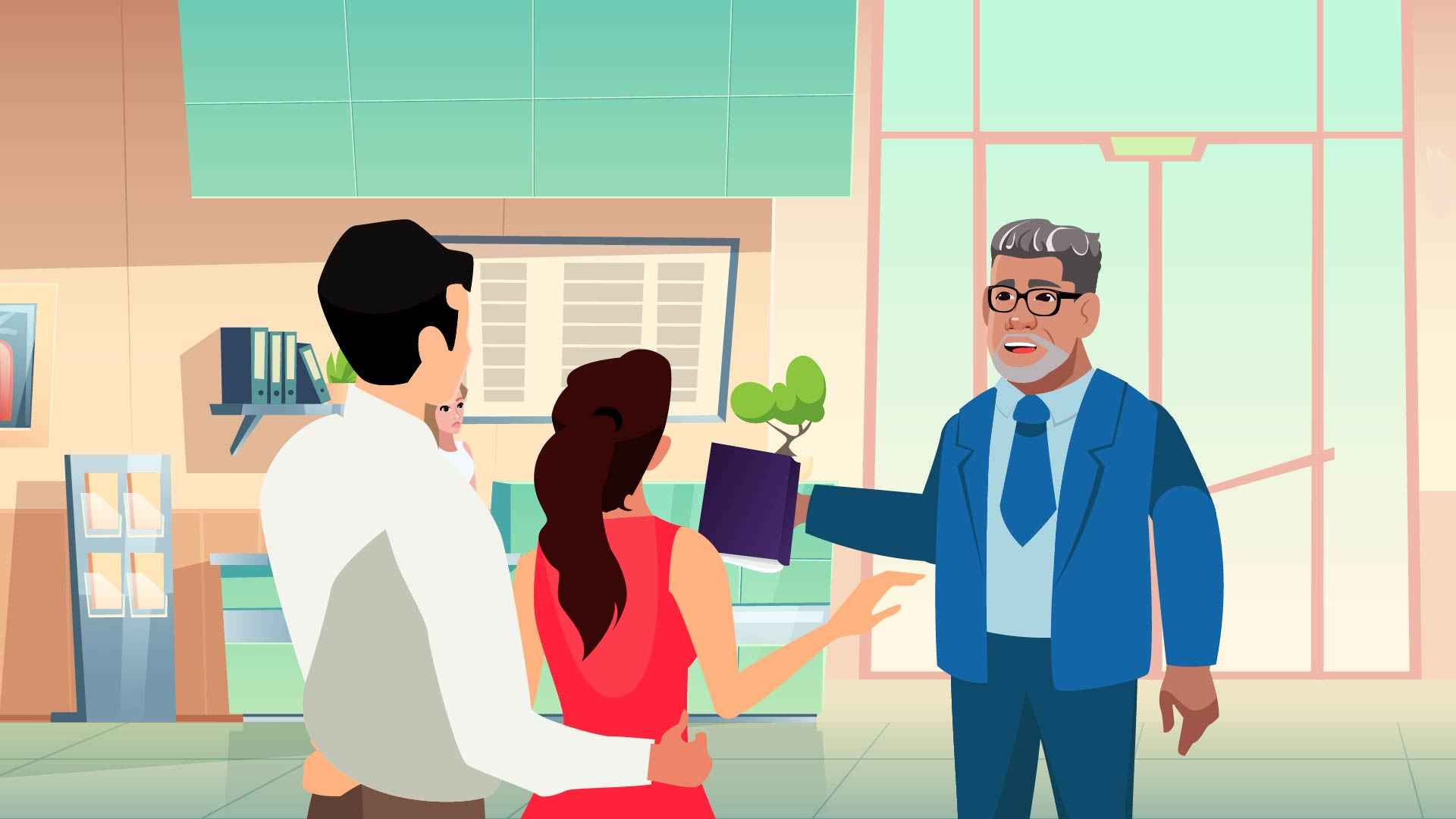 """2D Animated Explainer Video """"Solve your tax problems"""""""