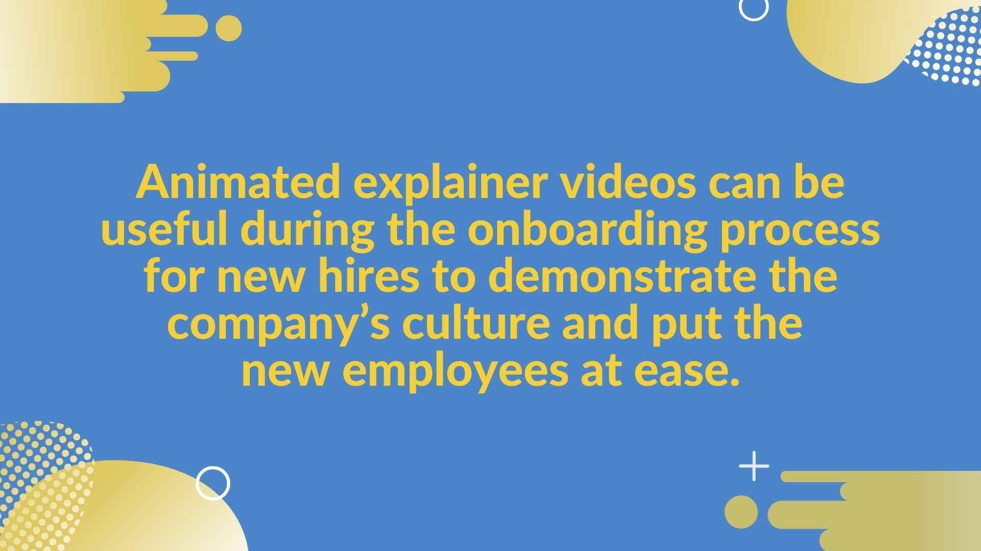 Banking explainer video