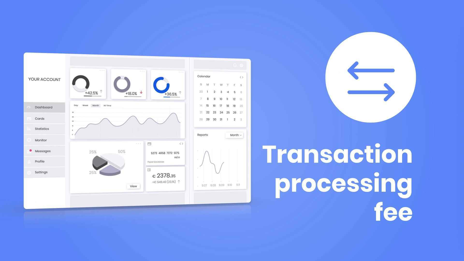 Animated video about the application for making payments