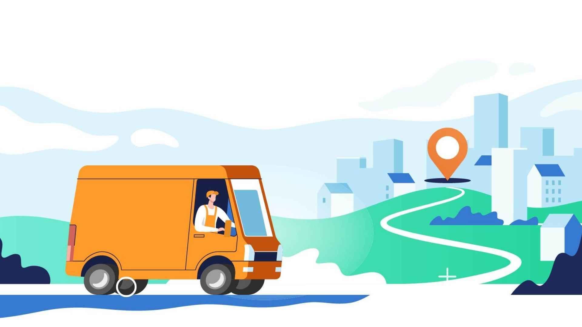 Animated explainer videos for Logistics