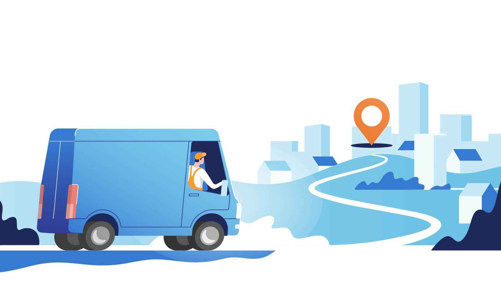 Animated video about your business - transport and logistics