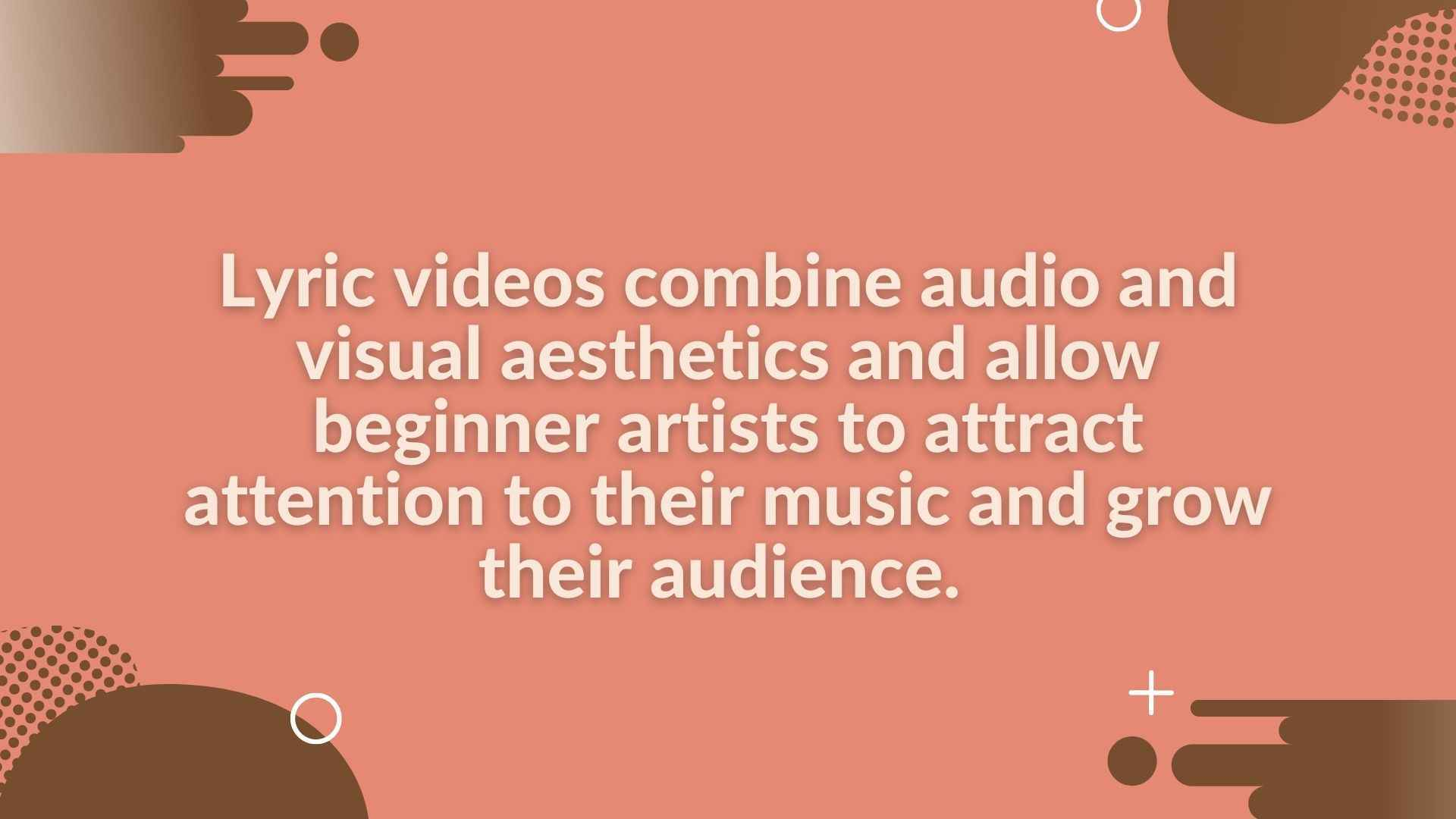 Features of lyrical videos