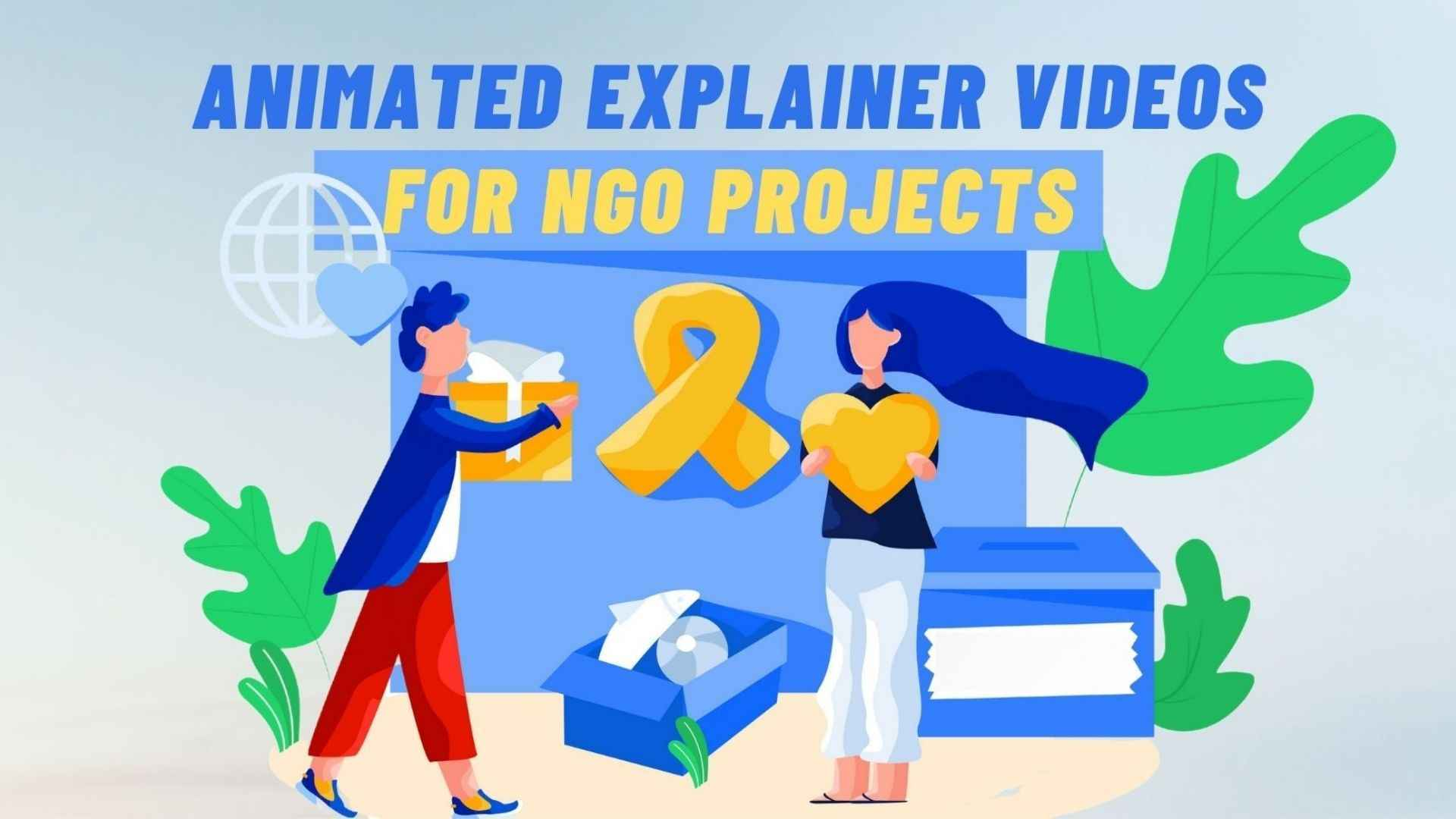 Animated Explainer Videos for NGO Projects