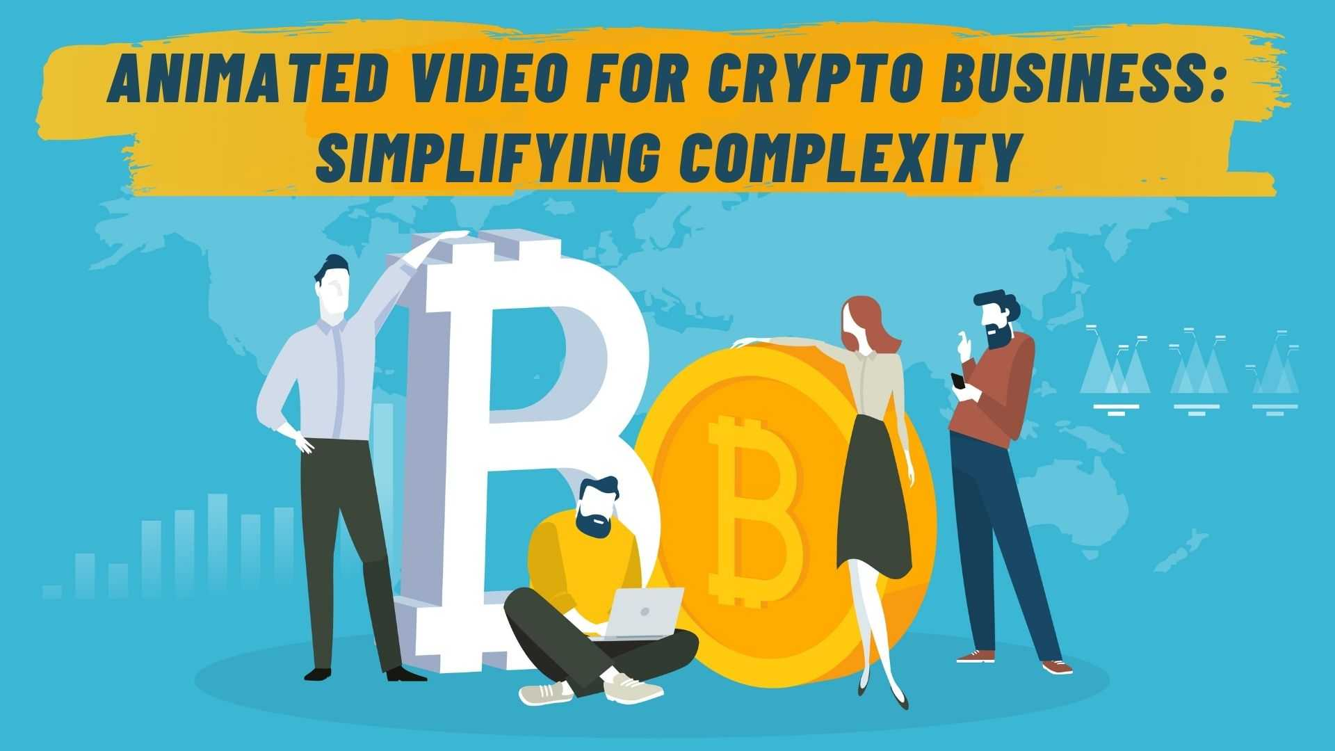 Animated video for crypto business