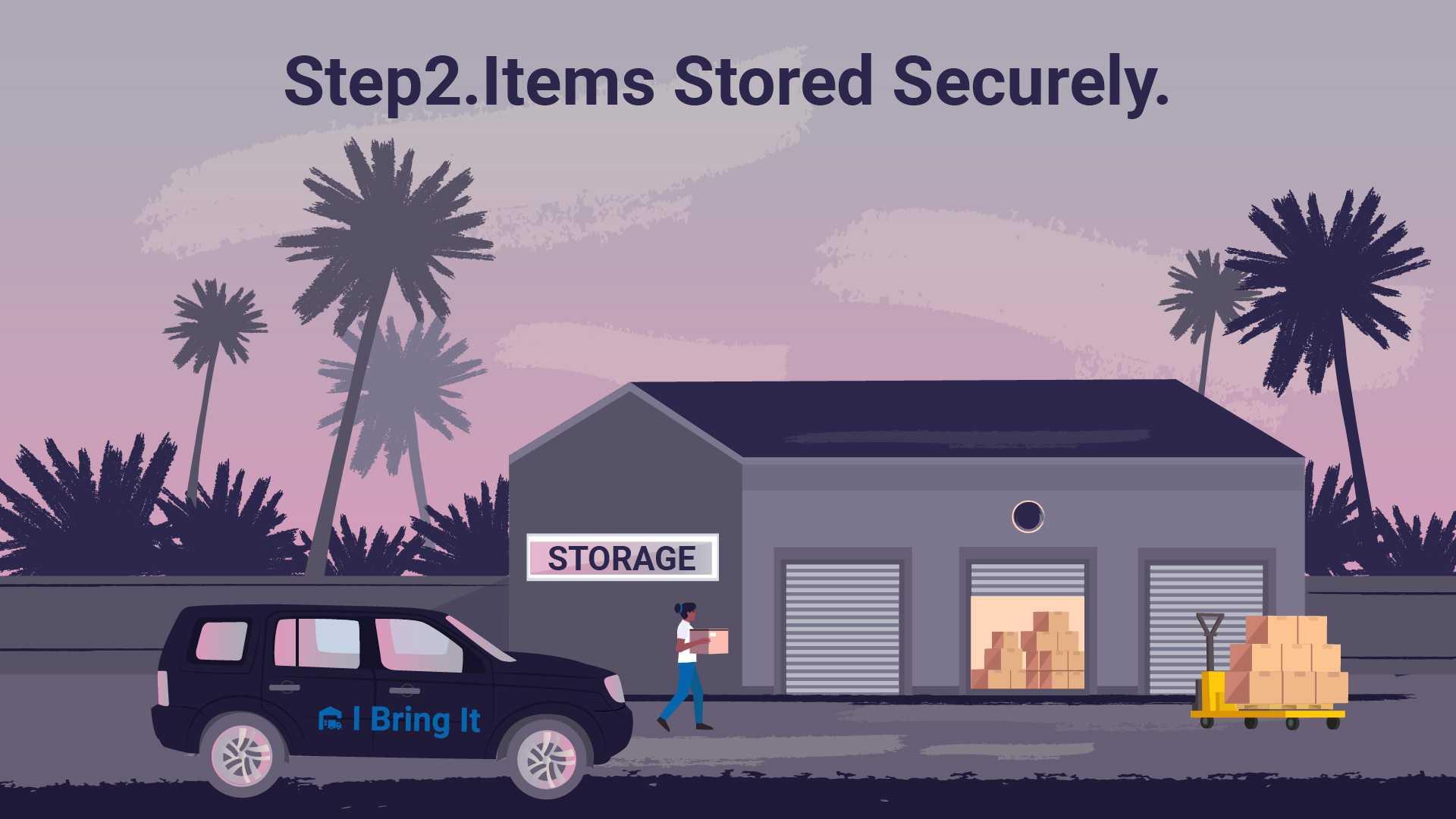 Secure storage - Medium 2D Animated Video