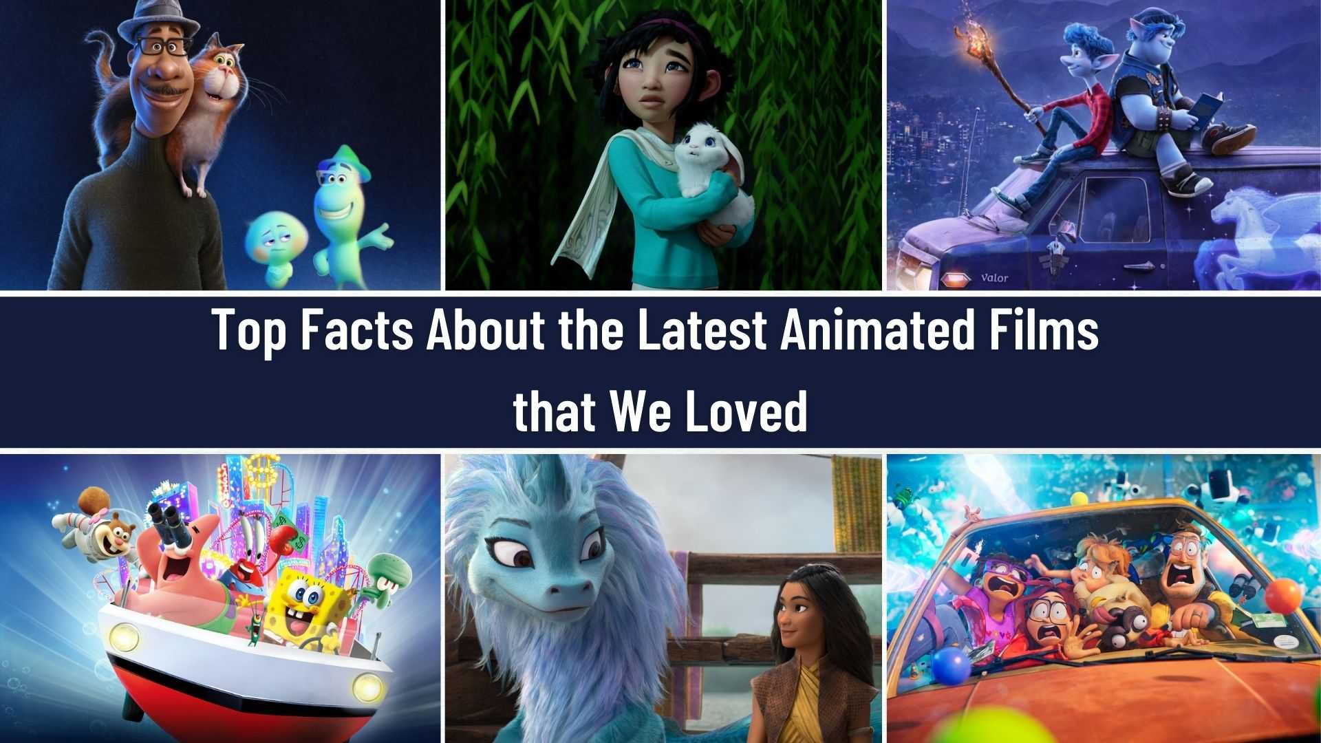 The best new movies in the world of animation. Cool selection
