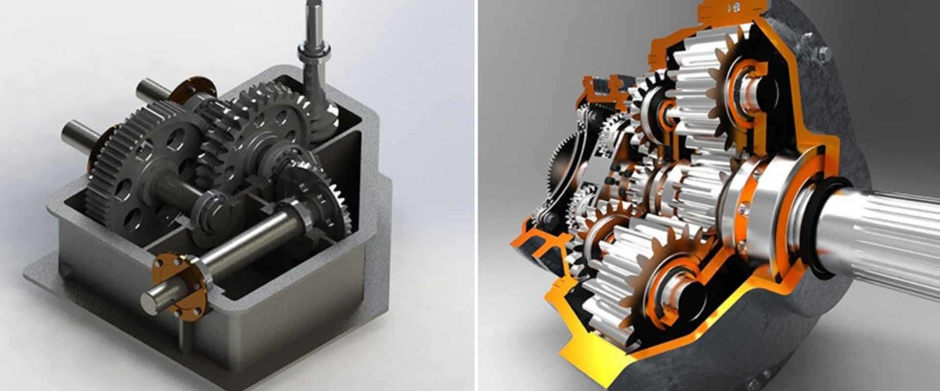 3D Mechanical animation