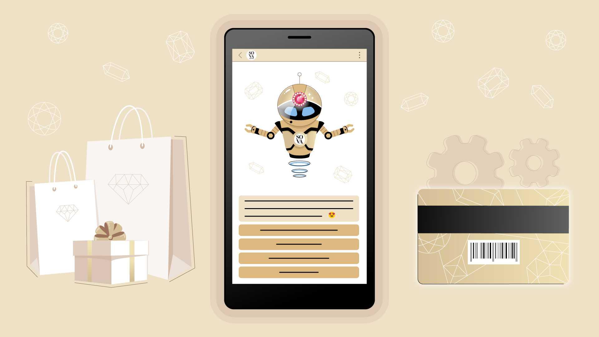 SOVA Store Virtual Assistant - Animated Explanatory Video