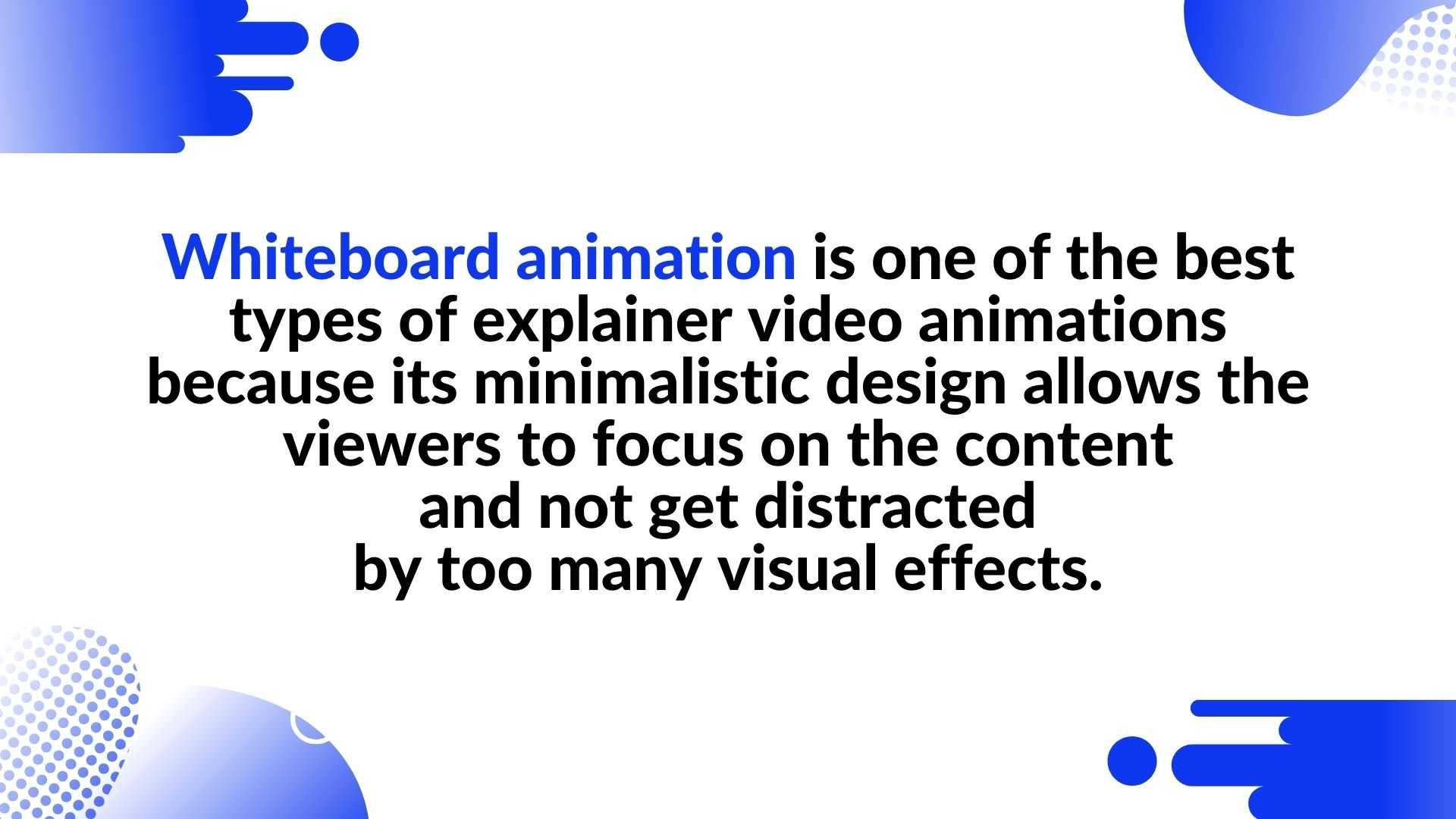 What is Whiteboard animation