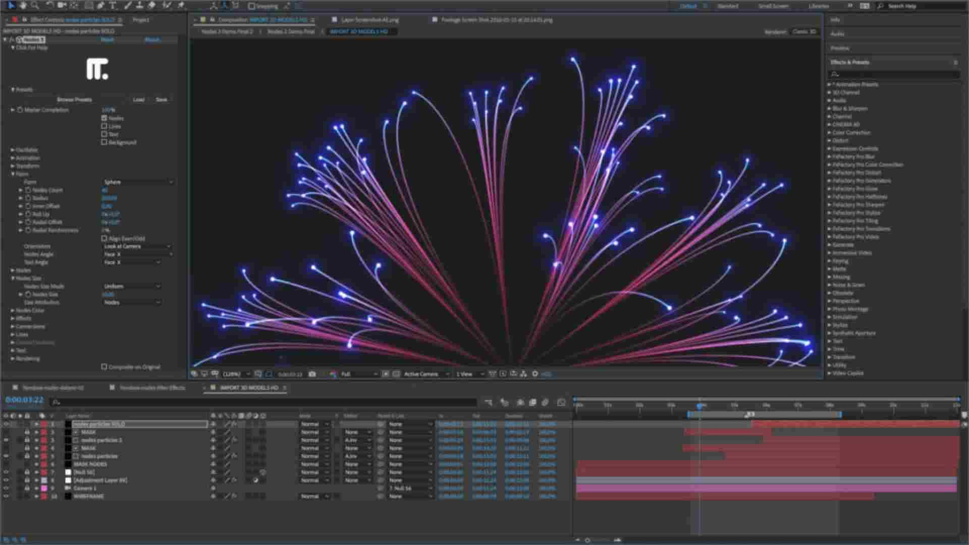 Spectacular Animations created in Adobe After Effects