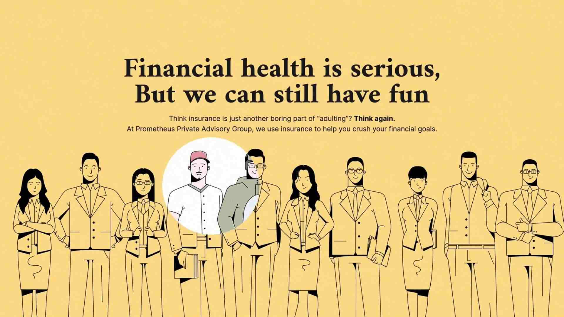 Financial health is serious, but we can still have fan in Digital Panda