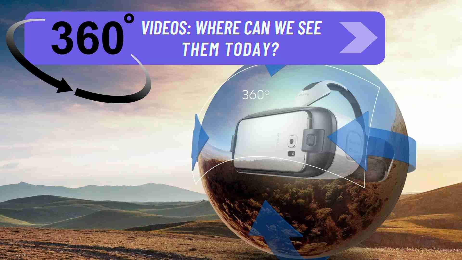 Virtual reality: 360 degrees