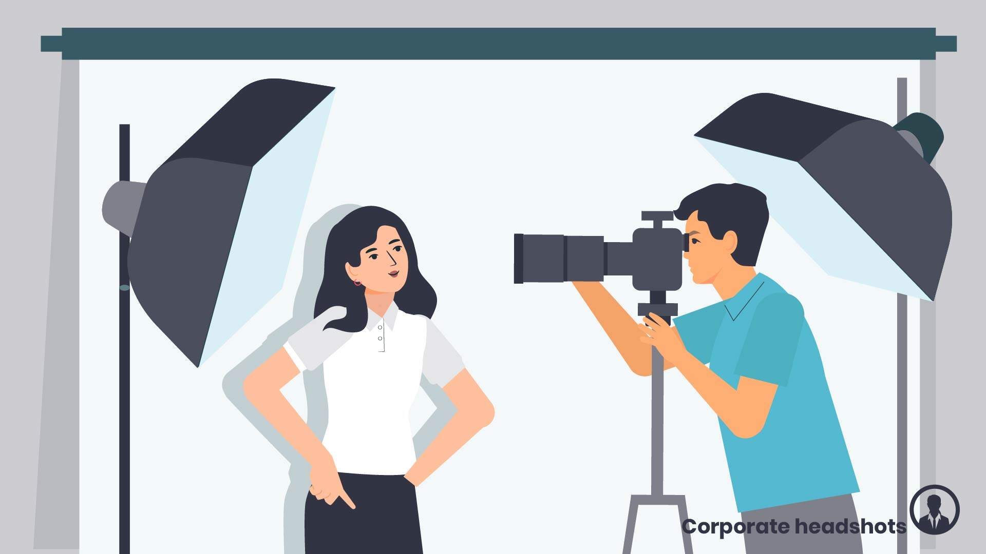 Professional photography, portrait - Character Animation