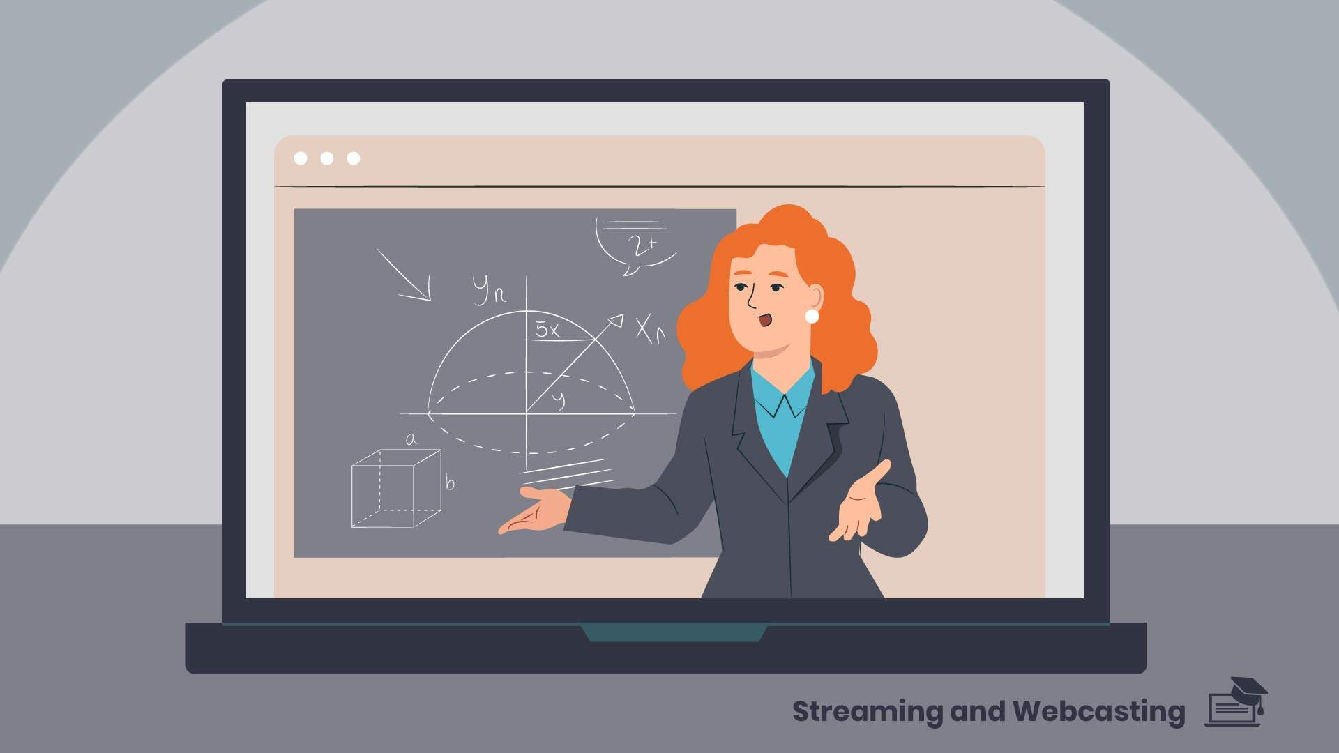 Professionally shot video - animated content