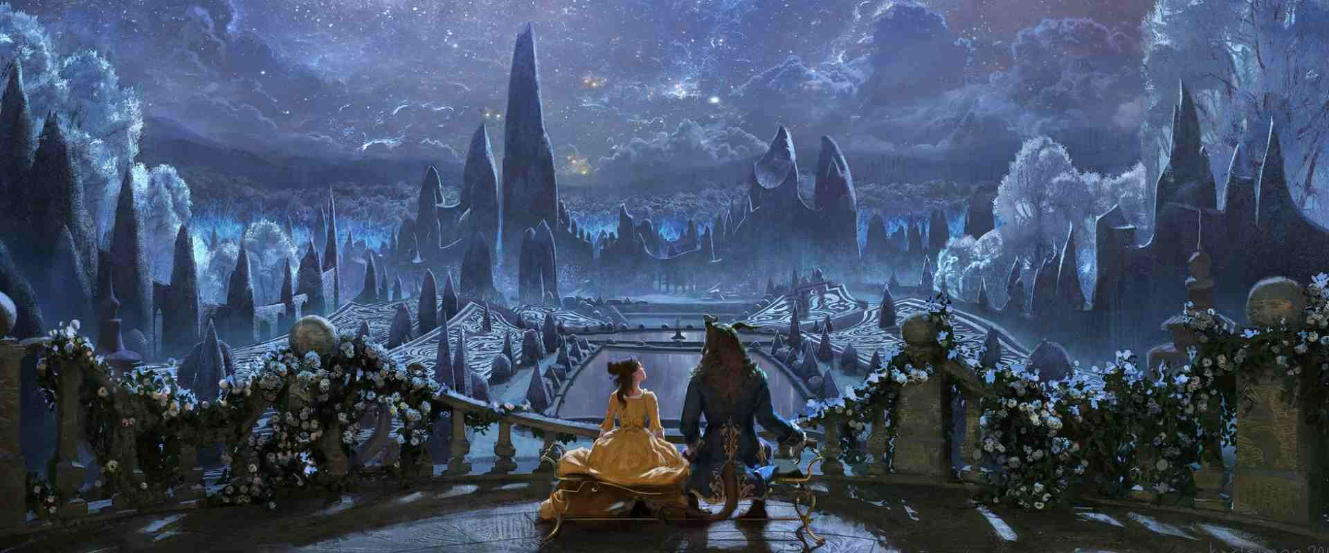 Concept Art for Beauty and the Beast in the article about Concept Artist