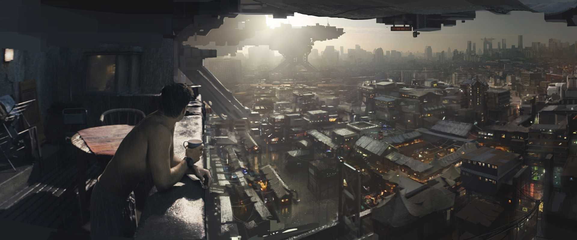 Concept art for Total Recall in the article about Concept Artist