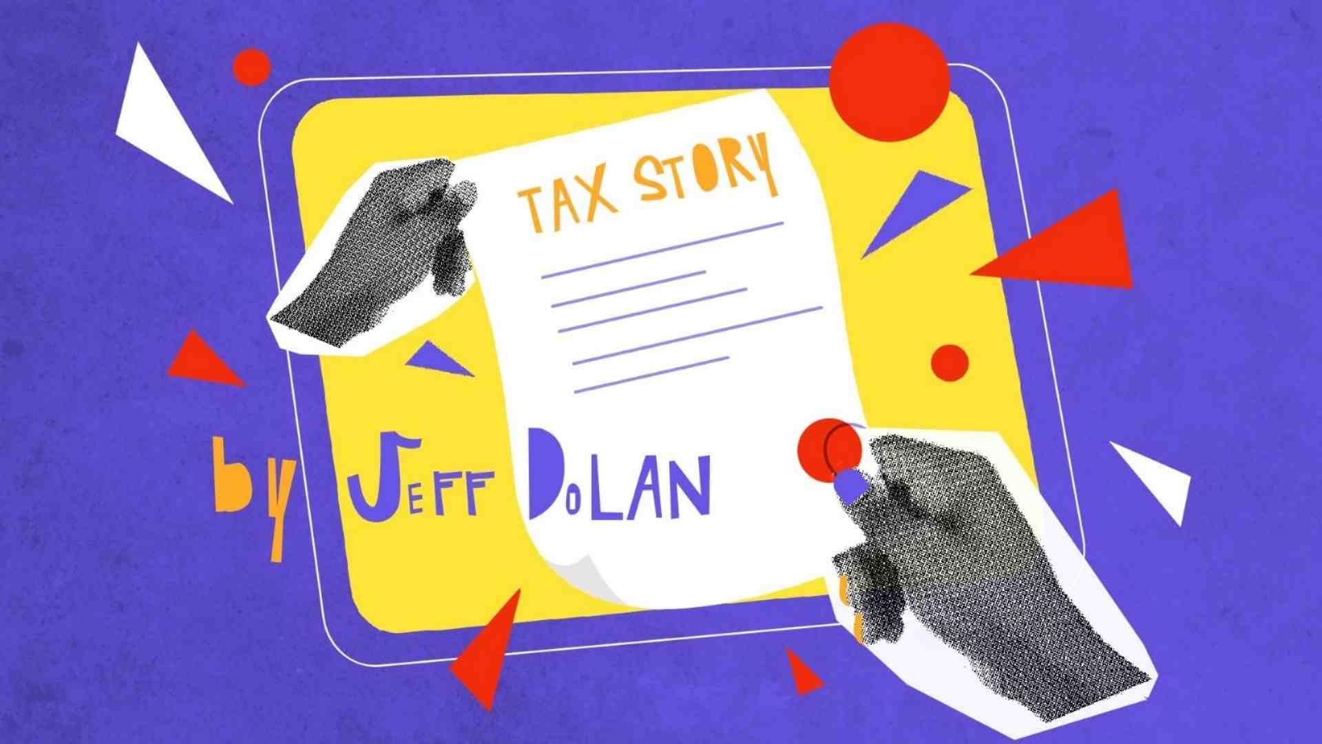 Tax story by Jeff Dolan