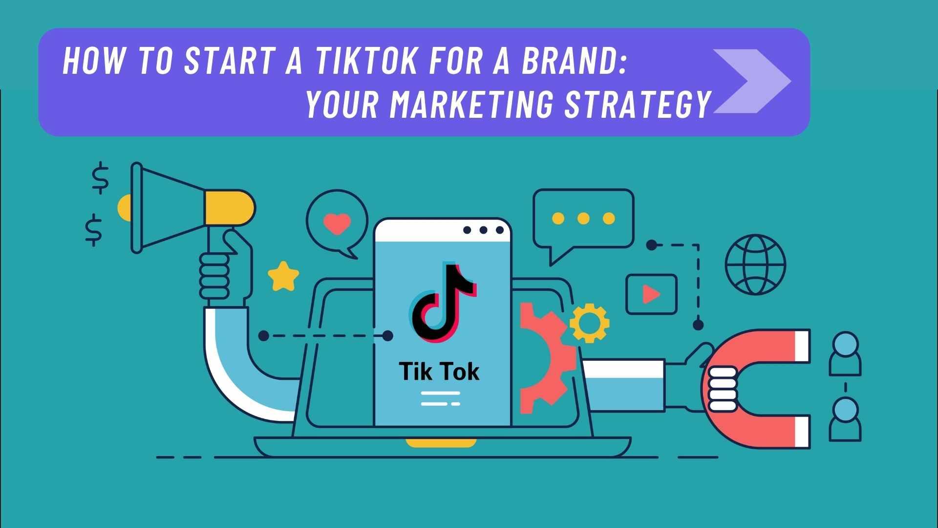 Animation image TikTok for a Brand