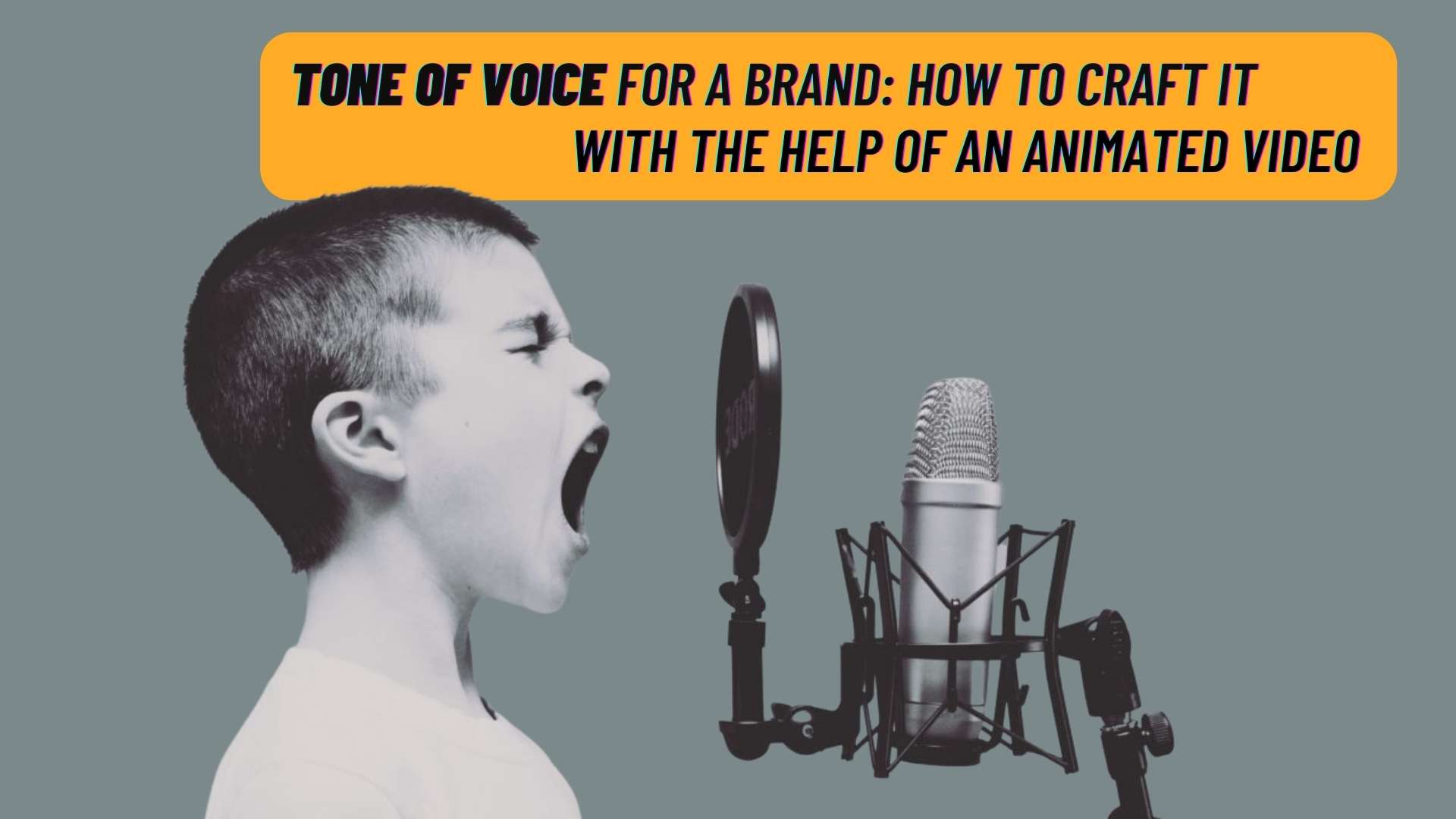 Tone of voice for a brand