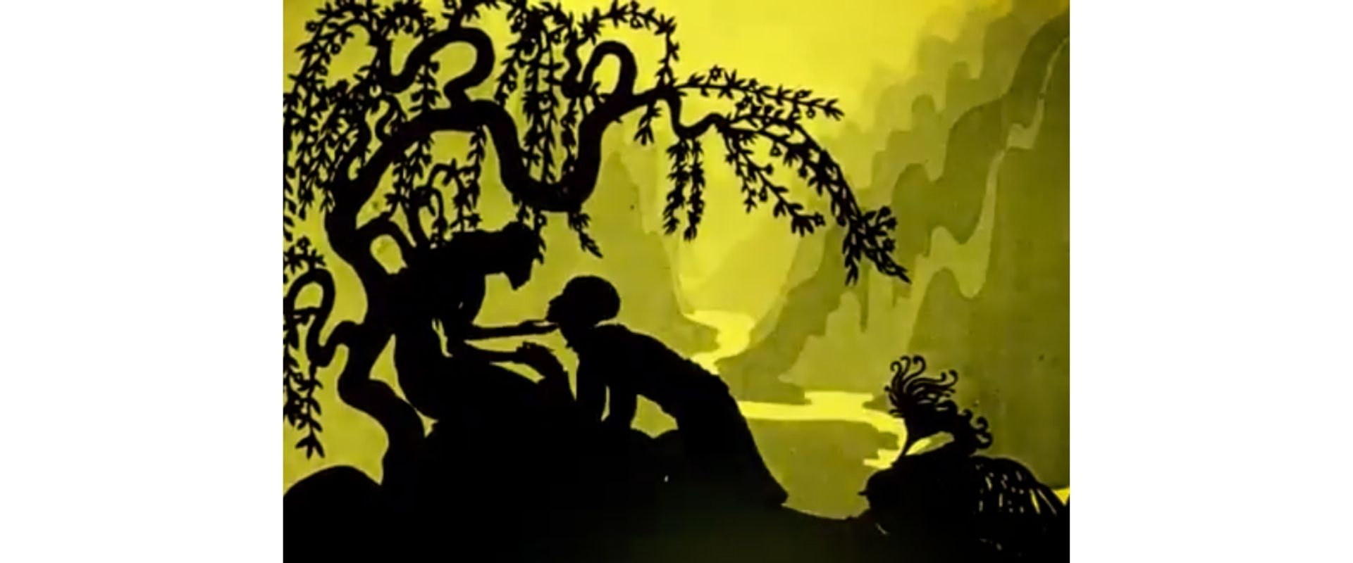 """""""The Adventures of Prince Achmed"""", by Lotte Reiniger"""