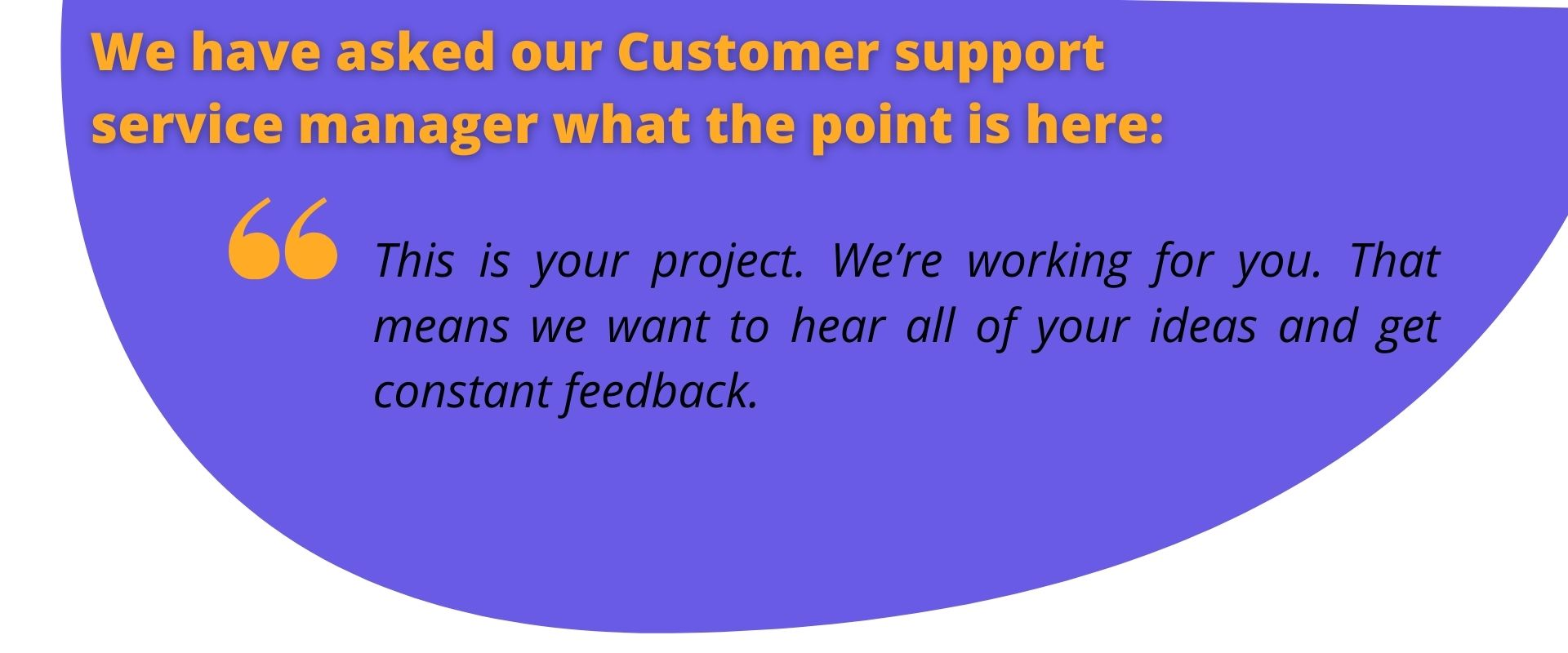 Customer Service Manager Thoughts