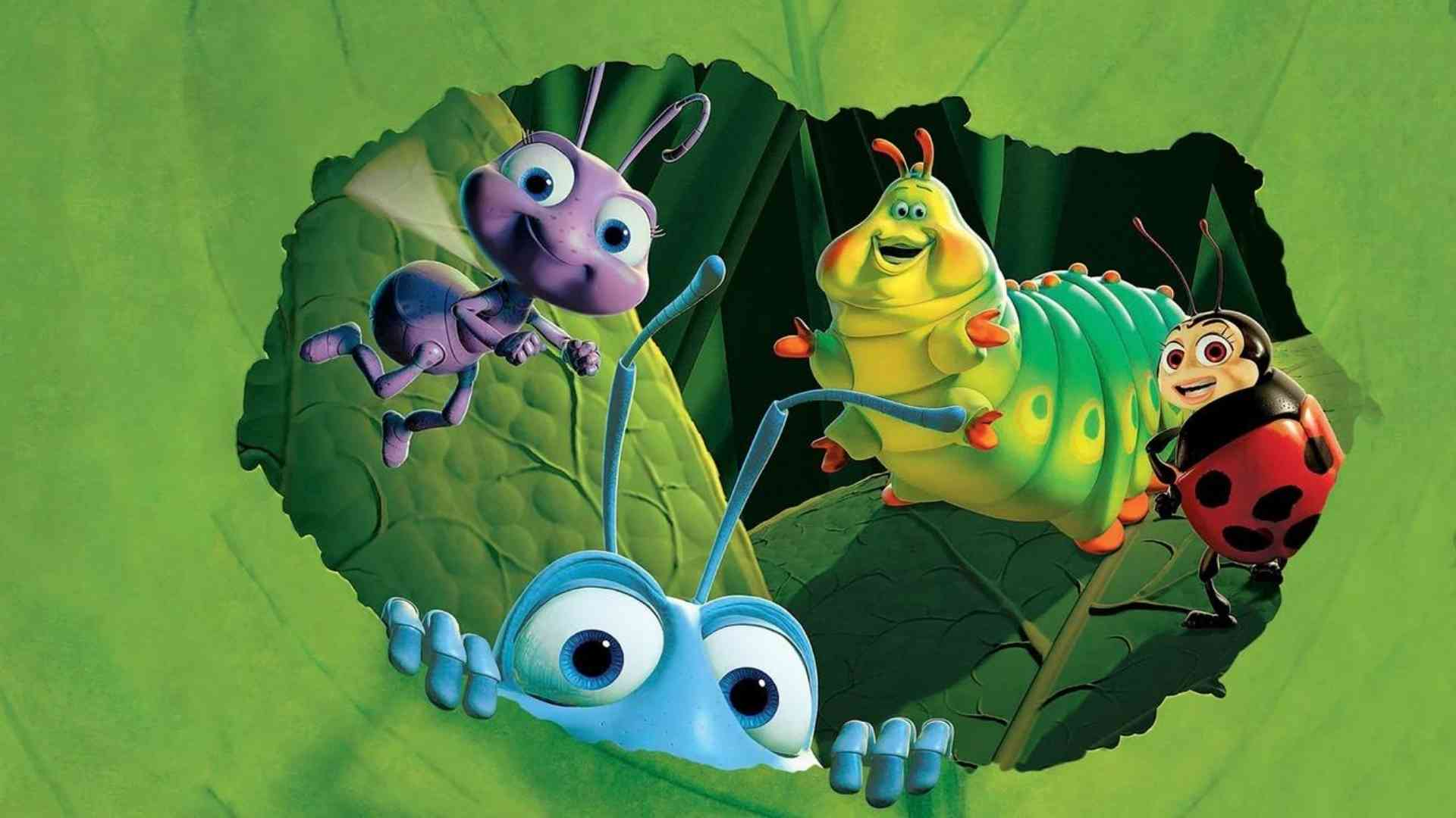 A Bug's Life - Pixar Animation Studios in the article about colors in animation